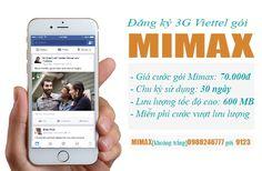 ĐĂNG KÝ 3G MIMAX VIETTEL TRỌN GÓI KHÔNG GIỚI HẠN http://3gviettel.vn/dang-ky-3g-viettel-tron-goi-mimax.html