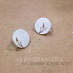Classy Nature Earrings  Recycled Sterling Silver www.kileygranberg.com Copper Jewelry, Jewelry Art, Canadian Art, Unique Art, Recycling, Classy, Jewels, Sterling Silver, Artist