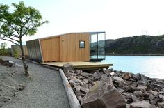 Manshausen Island resort is a Product Launch Venue in Nordland, Norway. See photos and contact Manshausen Island resort for a tour. Small Buildings, Modern Buildings, Minimalist Architecture, Modern Architecture, Cute Small Houses, Arched Cabin, Timber Cabin, Surf House, Getaway Cabins