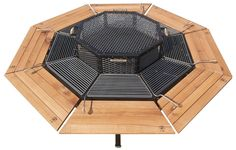 Octagon Grill by Jag Grill...each person gets their own section to grill what they want and great conversation table while you cook! MUST HAVE!~sm
