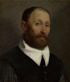 Portrait of a Man with Raised Eyebrows (1570), Giovanni Battista Moroni