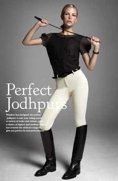 Perfect jodphurs