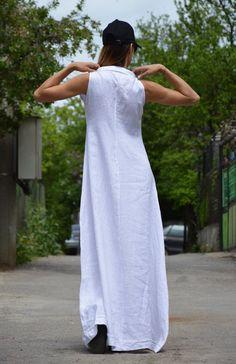 Plus Size Dress Summer Linen Dress Maxi Dress Women Simple Dresses, Plus Size Dresses, Plus Size Outfits, Casual Dresses, African Print Fashion, African Fashion Dresses, Boho Dress, Lace Dress, Kente Dress