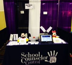 School Counselor Central booth, #330, is all set up to go! Come by, say hello and check us out.  On site subscription will be available!!!  Sign up for an individual subscription and we will get you started within 24 hours!!!  Look forward to meeting all of our supporters and friends!