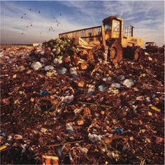 """This picture reminded me of """"landfill"""". I assume that this is something like what the landfill would have looked like where Hector's body was found. Sad."""