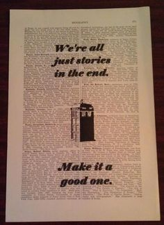 Dr Who Vintage Art Print No Frame by clevebeat on Etsy, $6.00. Would make a great gift for a certain whovian I know.