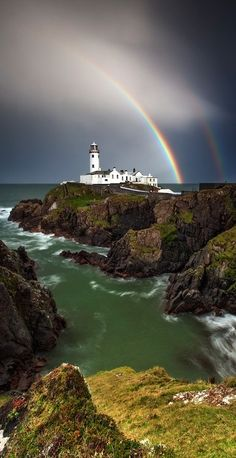 Donegal, Ireland.  Lighthouse