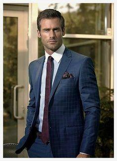 mens suits Style -- CLICK Visit link above for more details Gentleman Mode, Gentleman Style, Dapper Gentleman, Mode Masculine, Sharp Dressed Man, Well Dressed Men, Mens Fashion Suits, Mens Suits, Fashion Hats