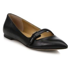 Marc by Marc Jacobs Seditionary Point-Toe Mary Jane Flats