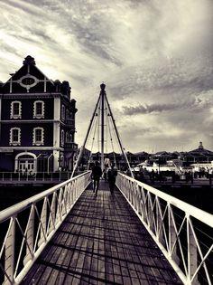 Clock Tower Bridge, V&A Waterfront, Cape Town, South Africa. BelAfrique your personal travel planner - www.BelAfrique.com