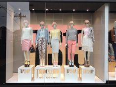 Margot's world styling at topshop Melbourne