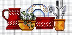 cozinha graficos ponto cruz, gráficos de cocina punto de cruz, kitchen graphics cross stitch, graphiques de cuisine point de croix, Grafica cucina attraversano punto, γραφικά κουζίνα σταυροβελονιά, кухня графика вышивки крестом