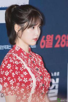 IU 170627 Real's VIP Premiere Korean Celebrities, Korean Actors, Korean Star, Cute Korean, Pop Singers, Korean Outfits, Her Music, Sexy Asian Girls, Korean Singer