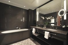 In Suite Bathroom, Le Gray Beirut http://www.campbellgrayhotels.com/le-gray/home www.sadlerandco.com