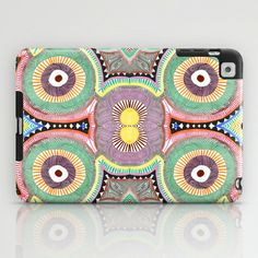 Primary Hypnosis iPad Case by Liz Nehdi. Free shipping til March 9 with this link: http://society6.com/LizNehdi?promo=efd5f6