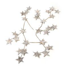 Garland Of Glitter Stars