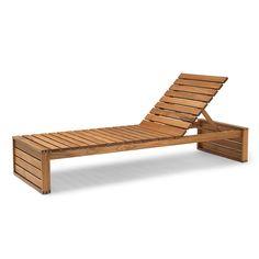 Carl Hansen and Son Sunbed, Teak Oil Used Outdoor Furniture, Pallet Garden Furniture, Cool Furniture, Furniture Design, Modern Furniture, Rustic Furniture, Antique Furniture, Furniture Stores, Concrete Furniture