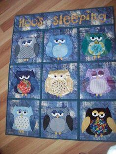 owl quilt -