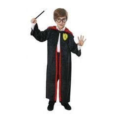 Child Wizard Boy Like Harry Potter Costume Book Week Day Kids Fancy Dress e90e063ad67d