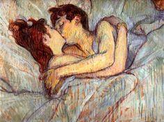 Toulouse Lautrec,  le baiser