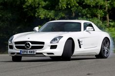 Mercedes-Benz SLS review  Is it a cut-price SLR or overpriced Merc special with fancy doors?