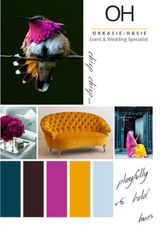Playfully bold selection of hues | Sky Blue | Mustard Yellow | Magenta | Burgundy | Dark teal