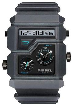 0006cba5173d Triple Time Zone Gunmetal Dial Men s Watch  Movement Size Gender