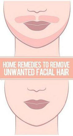 Home Remedies for Unwanted Facial Hair Removal.