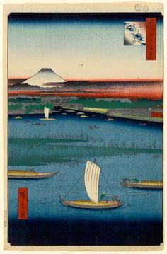 Hiroshige's One Hundred Famous Views of Edo, actually composed of 118 splendid woodblock landscape and genre scenes of mid-nineteenth-century Tokyo, is one of the greatest achievements of Japanese art.