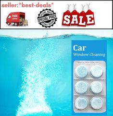 Car Window Cleaning Glass Wiper Fine Wiper Car Windshield Cleaning 6pcs/pack