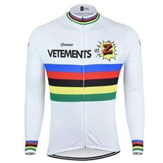 Retro Vetements Team Z Long Sleeve Cycling Jersey-Online Cycling Gear Road  Cycling 99d1533d2