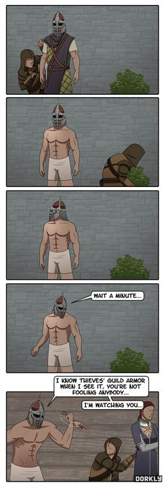 This is everything that I love about Skyrim right here.