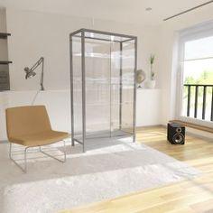 Γυάλινη Βιτρίνα Καταστήματος με συρόμενες πόρτες Divider, Room, Furniture, Home Decor, Cabinets, Bedroom, Decoration Home, Room Decor, Rooms