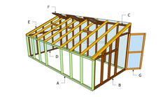 How to build a lean to greenhouse | HowToSpecialist - How to Build, Step by Step DIY Plans