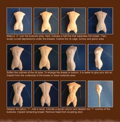 Doll Making ~ Sculpey Tutorial ~ 2