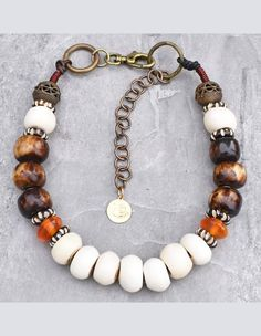 African-Inspired Bone, Brass, Leather and Amber Tribal Choker Necklace Womens jewelry Ideas – Stylish Womens jewelry That Any girl Would Love Bridal Jewelry, Beaded Jewelry, Fine Jewelry, Jewelry Making, Real Diamond Necklace, Diamond Studs, Diamond Necklaces, Fashion Jewelry, Women Jewelry
