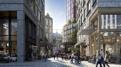 SOM + Entasis Unveil New Views of Karlatornet in Gothenburg,Courtesy of Tomorrow