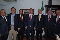 El Gobernador de Veracruz, Javier Duarte de Ochoa, asistió a reunión con miembros nacionales de la Cámara Nacional de la Industria de la Transformación (Canacintra).