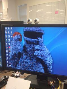 My colleagues new desktop - Imgur