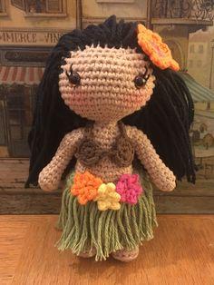 Ravelry: Lani the Hula Girl pattern by Jessica Doering