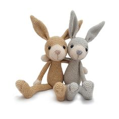 Hopper the Hare Crochet Pattern by YukiYarnDesings