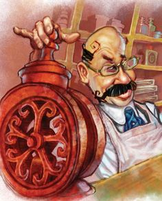 Illustration created for the Educational Publishing Industry.All Rights Reserved. Image Courtesy of G.L. Freeman © www.freemans2dios.com  https://www.facebook.com/media/set/?set=a.53224581187.67098.27247196187&type=3