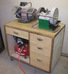 Air Tool & Sharpening Tool Box - Reader's Gallery - Fine Woodworking
