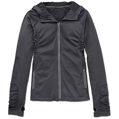 Athleta Half Mile Hoodie - Asphalt in  from Athleta on shop.CatalogSpree.com, your personal digital mall.