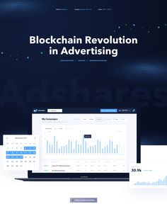 Adshares is a decentralized marketplace for programmatic advertising. We use blockchain to connect Publishers and Advertisers and let them make direct deals using our cryptocurrency. Design Case, Web Design, Effective Marketing Strategies, Web Inspiration, Blockchain, Case Study, Cryptocurrency, Advertising, Let It Be