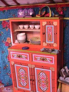 Ride Your Dragon: Mongolian Furniture