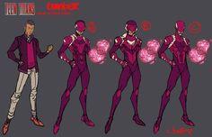 Former TEEN TITANS Artist Reveals Concept Art - Including Rejected WONDER GIRL Designs