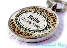 Pet+Tag+Pet+ID+Tag+Metal+Dog+Tag+Pet+Collar+Tag+by+HollywoodPups,+$7.99