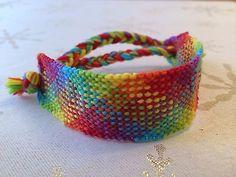 Handmade Threaded Friendship Bracelet Knotted Surfer Fashion Aztec
