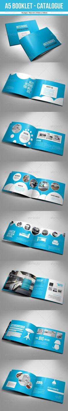 A5 Booklet - Catalogue $11.00